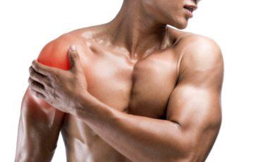 Тренировка с травмой плеча
